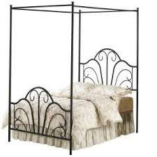 Black King Canopy Bed Hillsdale Furniture Dover Textured Black King Canopy Bed 348bkpr