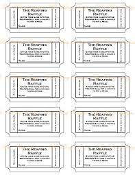 blank raffle tickets printable templates radiodigital co