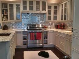 tin backsplashes for kitchens tin backsplash panels with white cabinets tin decor