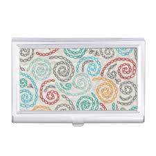 Fancy Business Card Holder Embroidery Business Card Holders U0026 Cases Zazzle Co Uk