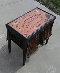 Ouija Coffee Table by Horror In The Home Wicked Horror Furniture