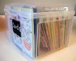 16 best greeting card storage images on greeting card