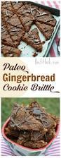 paleo gingerbread cookie brittlethefitfork com