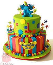 1st birthday boy 1st birthday boy s elephant cake birthday cakes