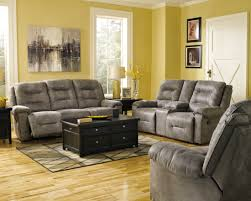 Livingroom Sets by Rotation Smoke Reclining Living Room Set From Ashley 97501 88 94