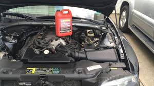 lexus v8 overheating lincoln ls v8 cooling system bleed process youtube