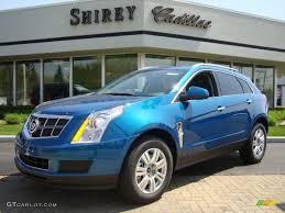 2010 caribbean blue cadillac srx v6 28874667 gtcarlot com car