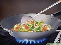 cuisiner wok how to buy a wok 13 steps with pictures wikihow