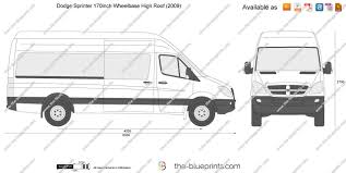 the blueprints com vector drawing dodge sprinter 170inch