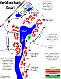 Map Of Caribbean Beach Resort by Andrew U0026 Jennifer U2013 Cbr U2013 Oct 26 29 2007 Archive Mousepad