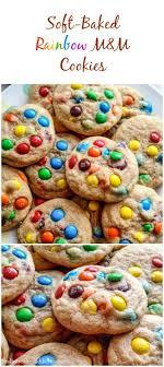 rainbow m m cookies sallys baking addiction