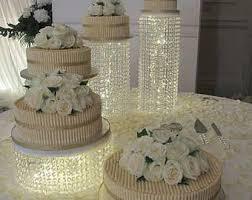 rhinestone cake stand bling cake stand etsy