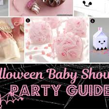 Halloween Baby Party Ideas Unique Baby Shower Themes Unique Baby Shower Favor Ideas