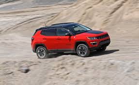 jeep mercedes red 2017 jeep compass in depth model review car and driver