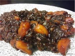 midi en recette de cuisine cuisine 2 soeurs risotto au riz noir et au potimarron recette d