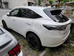 toyota harrier file tuned toyota harrier premium zsu60w rear jpg wikimedia