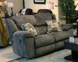 fabric recliner sofas transformer 2 piece reclining sofa set in seal fabric by catnapper