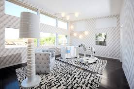 baby nursery modern eclectic white nursery features wooden baby
