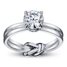 knot ring meaning the knot engagement rings two loop interlaced common design