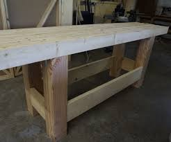 woodworking workbench sturdy inexpensive and quick to build 7