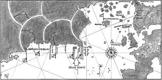 Map Of Newport Ri Early Maps Of New England Voyages To The New World