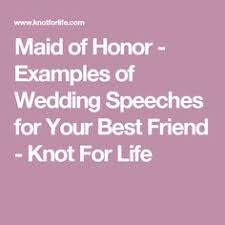 Matron Of Honor Poem Awesome Maid Of Honor Speech Examples Maids Wedding Blog And