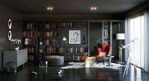 interior home ideas modern home library interior design functional modern home library