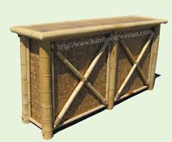 Tiki Patio Furniture by Bamboo Tiki Bar Outdoor Tiki Bar