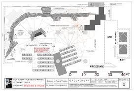 fire escape floor plan drafting