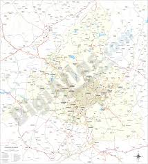 Madrid Map Vectorized Maps Digital Maps Increase Search Engine Traffic