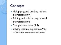 whiteboard review algebra 2 concepts multiplying and dividing