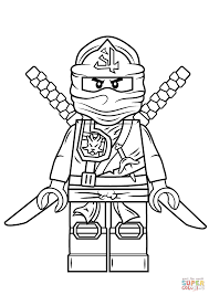 lego ninja coloring pages green ninja coloring pages for kids