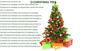 words to oh christmas tree song christmas lights decoration