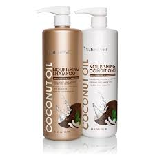 Shampoo For Itchy Scalp And Color Treated Hair Nature Well Extra Virgin Coconut Oil Shampoo U0026 Conditioner 24 Fl