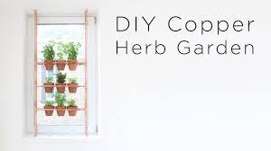 diy copper herb garden youtube