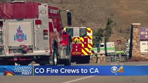 California Wildfires Colorado by Colorado Sends 20 Fire Engines And Their Crews To Help In
