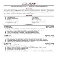 exle of resume summary resume summary exles data entry clerk resume sle resume