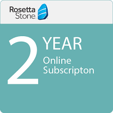 rosetta stone yearly subscription rosetta stone 24 month online subscription download 0091187