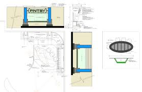 set design and technical drawings scenery set construction