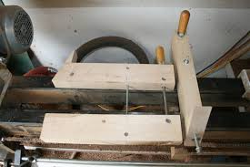 caleb james chairmaker planemaker custom sized lathe bed tool rest