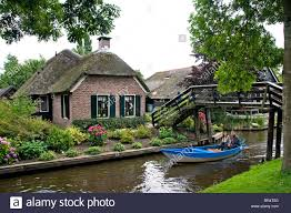 Giethoorn Holland Homes For Sale by Overijssel Giethoorn Venice Of The Netherlands Water Canal Boat