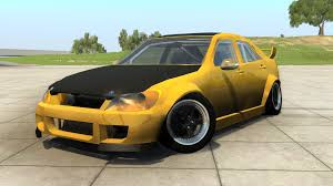 toyota altezza modified wip toyota altezza lexus is beamng