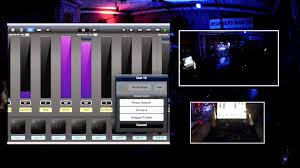 dmx light control software for ipad luminair lighting the drum room dmx lighting control with