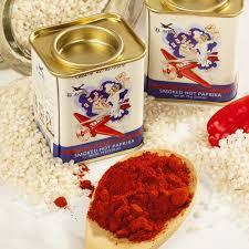 smoky paprika smoked paprika hot from spain pimenton de la vera for paella
