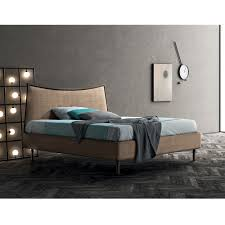 Double Bed Frame Design Handmade Upholstered Double Bed 160x190 Cm Lucy Modern Design