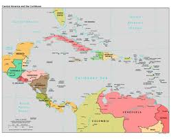 South America Countries Map by Maps Of Central America And The Caribbean Central America And The