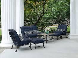 6 Piece Garden Furniture Patio Set - oceana 6 piece outdoor conversation set w deep seat cushions