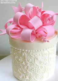 how to make a loopy bow a cake decorating video tutorial cake