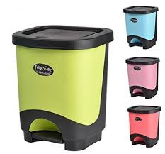 buy pp material office kitchen home decoration waste can litter