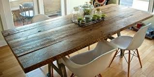 Wood Dining Table Design Reclaimed Wood Dining Table Designs Recycled Things